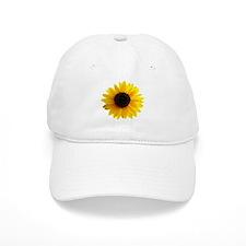 Golden sunflower Baseball Cap