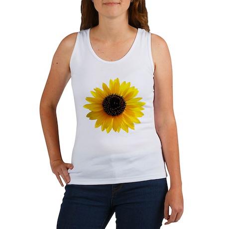 Golden sunflower Women's Tank Top