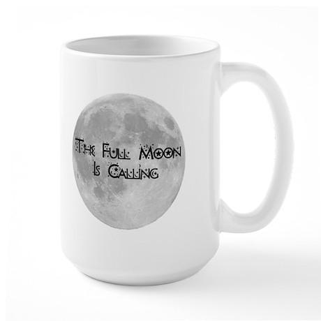 The Full Moon Is Calling Large Mug