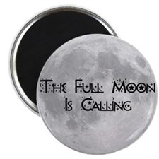 The Full Moon Is Calling Magnet