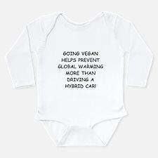 Going Vegan Long Sleeve Infant Bodysuit