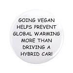 """Going Vegan 3.5"""" Button (100 pack)"""