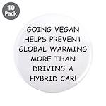 """Going Vegan 3.5"""" Button (10 pack)"""