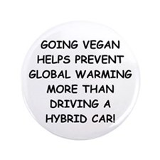 "Going Vegan 3.5"" Button"