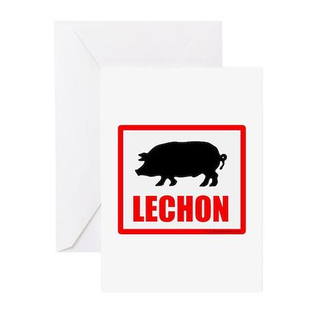 Lechon Greeting Cards (Pk of 10)