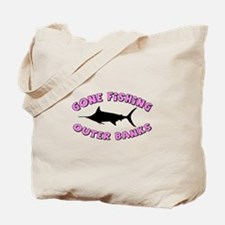 Gone Fishing - Outer Banks Tote Bag