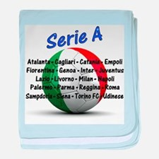 Serie A baby blanket