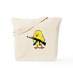Gun Chick Tote Bag