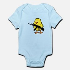 Gun Chick Infant Bodysuit