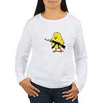 Gun Chick Women's Long Sleeve T-Shirt