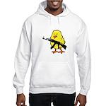 Gun Chick Hooded Sweatshirt