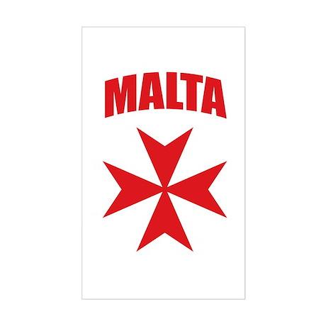 Malta Sticker (Rectangle)