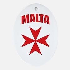 Malta Ornament (Oval)