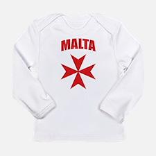 Malta Long Sleeve Infant T-Shirt