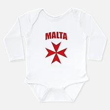 Malta Long Sleeve Infant Bodysuit
