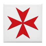 Maltese cross Drink Coasters