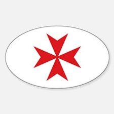 Maltese Cross Decal