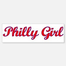 Philly Girl Bumper Bumper Sticker