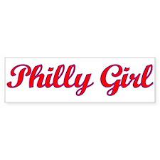 Philly Girl Bumper Sticker