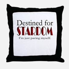Destined for Stardom Throw Pillow