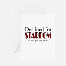 Destined for Stardom Greeting Cards (Pk of 10)