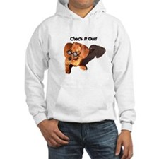 Check it Out Dauchshund Dog Hoodie