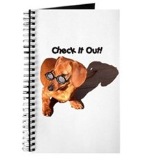 Check it Out Dauchshund Dog Journal