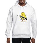 Vintage Gun Chick Hooded Sweatshirt