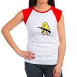 Vintage Gun Chick Women's Cap Sleeve T-Shirt