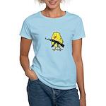 Vintage Gun Chick Women's Light T-Shirt