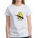 Vintage Gun Chick Women's T-Shirt