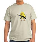 Vintage Gun Chick Light T-Shirt