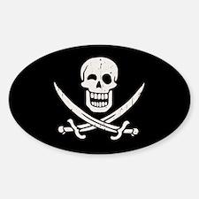 Jollier Jack Sticker (Oval)