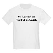 With Hazel Kids T-Shirt