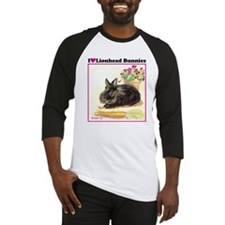 Lionhead rabbit Baseball Jersey