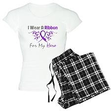 Crohn's Disease Hero Ribbon Pajamas