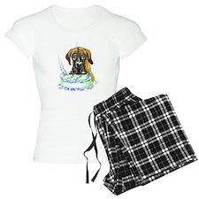 Dane Birthday Brindle UC Pajamas