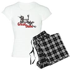 Great Dane Black LB Pajamas