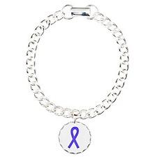 Periwinkle Ribbon Bracelet
