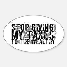 Stop Wealthy Welfare Decal