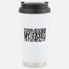 Stop Wealthy Welfare Stainless Steel Travel Mug