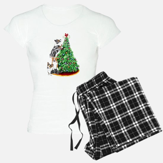 Corgi Christmas Pajamas