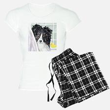 Bi Black Sheltie Bath Pajamas