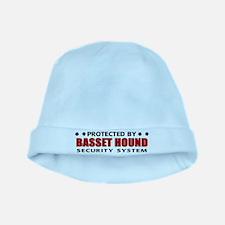 Basset Hound Security baby hat