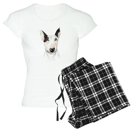 Bull Terrier Bust Women's Light Pajamas