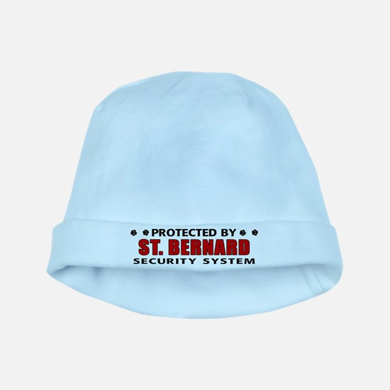 St Bernard Security baby hat