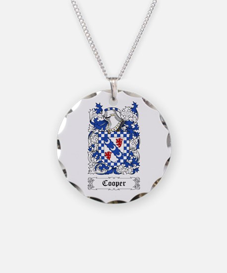 Cooper Necklace Circle Charm