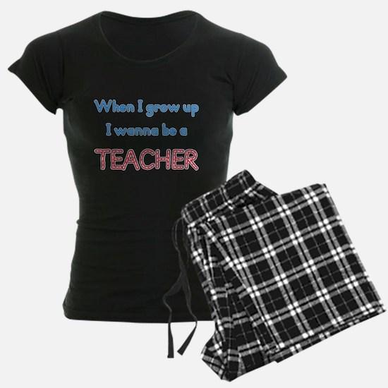 Future Teacher pajamas