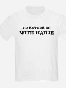 With Hailie Kids T-Shirt
