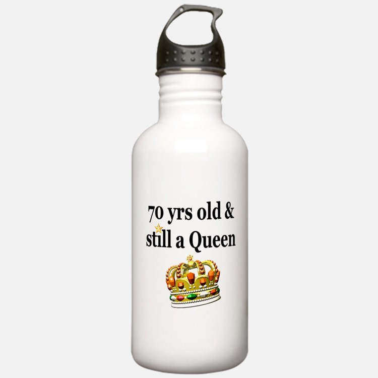 HAPPY 70TH BIRTHDAY Water Bottle